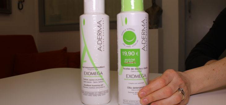 A-Derma Exomega Detergente Cremoso e Olio Detergente